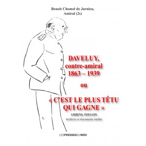 DAVELUY, contre-amiral 1863...