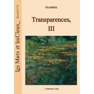 TRANSPARENCES, III – N°16...