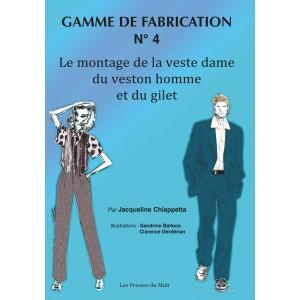 GAMME DE FABRICATION N° 4...